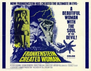 """Frankenstein Created Woman"" poster"