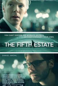 """The Fifth Estate"" poster"