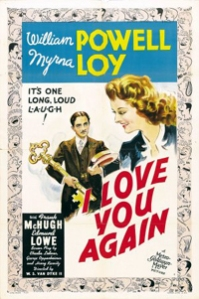 """I Love You Again"" poster"