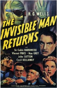 """The Invisible Man Returns"" poster"